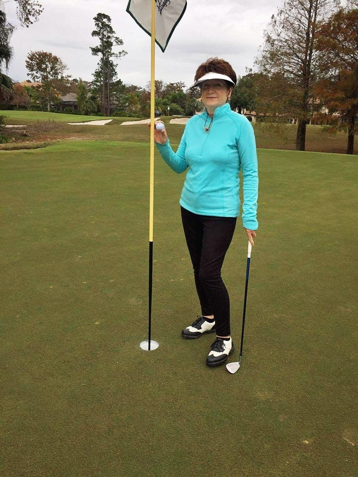 Jane Farmer Hole in One